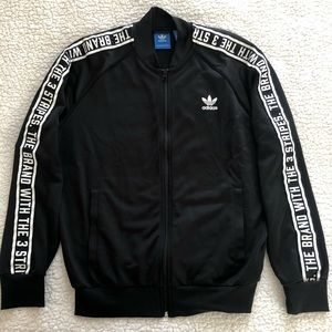 "ADIDAS ""The Brand with the 3 Stripes"" Jacket"